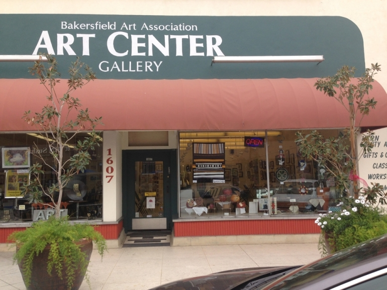 The Bakersfield Art Center in the downtown arts district